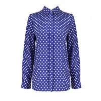 Colour and contrast: Sportscraft Wendie Dot Shirt, $139.95. http://www.sportscraft.com.au/Wendie-Dot-Shirt/9344961308418,default,pd.html#start=4