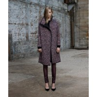Scanlan Theodore Boucle Coat in Multi, $850. http://www.scanlantheodore.com/c39607-boucle-coat