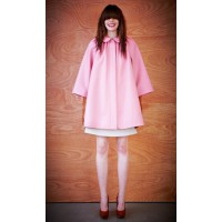 Karen Walker Awe-Inspiring Coat in Pink, NZD$1015. http://shop.karenwalker.com/products/awe-inspiring-coat