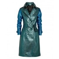 Burberry Prorsum Metallic Textured-Leather Trench Coat from net-a-porter.com, $5602. http://www.net-a-porter.com/product/348608