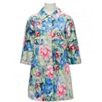 Trelise Cooper 'Painted Flowers, Austen Flowers' Coat, $729.www.trelisecooper.com