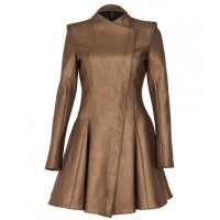 Kirrily Johnston Empire Coat in Bronze, $850. http://kirrilyjohnston.com/products/5581