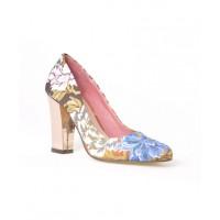 Nude Footwear Mercury Heels in Tea Rose Print, $159.95. http://www.nudefootwear.com.au/