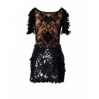 Collette Dinnigan Highland Fling Sequin Short Dress, was $3360, now $2352. http://www.missyconfidential.com.au/sales-deals/fashion/bridal-sales/collette-dinngan-christmas-sale.html
