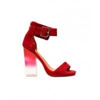 Jeffery Campbell Soiree Platforms in Red Suede from Nasty Girl, USD$135. http://www.nastygal.com/product/soiree-platform-red-suede