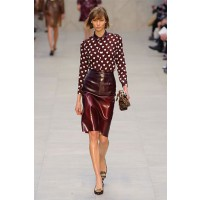 Modern ladylike: Burberry Prorsum RTW Autumn/Winter 2013, London Fashion Week. Source: Imaxtree via HarpersBazaar.com. http://www.harpersbazaar.com/fashion/fashion-articles/london-fashion-week-fall-2013-looks#slide-22