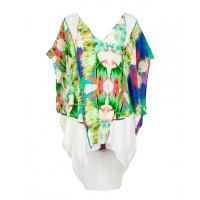 Suboo Sun Kissed Nirvana Printed Mini Kaftan, $289, suboo.com.au