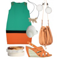 3) Casual chic: A sophisticated shift is fit for the office and a relaxed night out with your significant other.