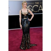 Nicole Kidman shows off her svelte bod in the best possible light, in a glam black and gold L'Wren Scott sequin gown. Source: Axelle/Bauer-Griffin via Zimbio.com http://www.zimbio.com/photos/Nicole+Kidman/Arrivals+85th+Annual+Academy+Awards/8_Zuw5gtRyC