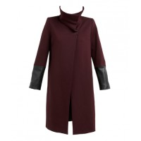 Feathers Power Cuff Coat in Oxblood, $599. http://www.shopfeathers.com.au/jackets-coats/power-cuff-coat/w1/i1031146_1019087/
