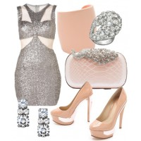 Team a silver sequin mini dress with pretty pastel footwear and jewellery, for an Oscars-worthy look that's less formal, and more fun.