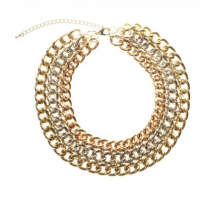 Gold Metal Link Chunky Chain Necklace, Lovisa, $29.99 http://www.lovisa.com.au/gold-metal-mix-chunky-chain-link-necklace.html