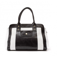 Nicole Tote Black & White, Coco Kitten, was $399, now $179 http://www.cocokitten.com.au/nicole-tote-black-white/