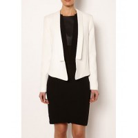 Zip back blazer, $199.95, Witchery http://www.witchery.com.au/shop/her/clothing/jackets-and-coats/630009/Zip-Back-Blazer.html