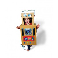 With a makedo kit kids' can turn cardboard waste into any number of creative possibilities.