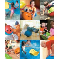 The Bilibo can be used numerous way, encouraging creative play.