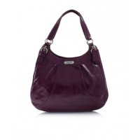Coach Soho Patent Flap Duffle Bag