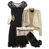 Outfit 3 - Ivory Elegance - for full outfit details: http://bit.ly/Yro1gy