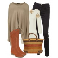 Outfit 4- Cashmere Chic - for full outfit details: http://bit.ly/11cg1Sn
