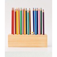 Pencil desk organiser https://www.etsy.com/au/listing/61370852/pencil-holder-wood-desk-organizer-pen?ref=related-6
