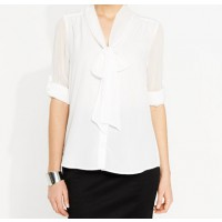 Tie Front Blouse great over pant or skirt, Portmans, $59.95 http://www.portmans.com.au/shop/en/portmans/clothing/tops/tie-front-blouse
