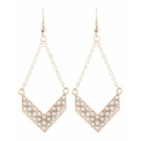 Atmos&Here Arrow Drop Earring, $9.07 http://www.theiconic.com.au/Arrow-Drop-Earring-67655.html