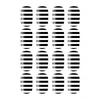 Nail Rock Nail Wraps $16 http://www.theiconic.com.au/Nail-Rock-Black-and-White-Stripes-66103.html