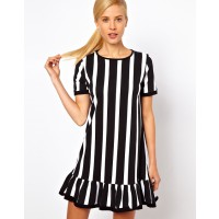 ASOS Shift Dress With Ruffle Hem In Vertical Stripe Print, $41.61 http://www.asos.com/au/ASOS/ASOS-Shift-Dress-With-Ruffle-Hem-In-Vertical-Stripe-Print/Prod/pgeproduct.aspx?iid=2677848&SearchQuery=stripe&Rf-700=1000&sh=0&pge=0&pgesize=200&sort=-1&clr=Prin