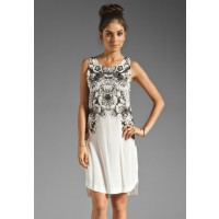 Something Else Mirage Flower Dress $84.95 (was $119.95) http://www.something-else.com.au/collections/neon-moon/products/mirage-flower-dress-soft-white