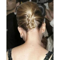 Scarlett Johansson's volumised twist from the back. Image via http://www.starandstyle.com/celebrity-updo-hairstyles-chignon-and-french-twist.html/scarlett-johansson-updo-hairstyle2