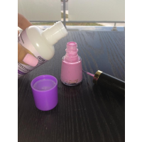 Add a drop of acetone to thin out gluggy nail polishes.