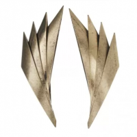 Gold Eagle Wing Metal Stud Earrings $12.99 http://www.diva.net.au/shop/earrings/gold-eagle-wing-metal-stud-earrings.html