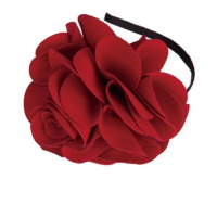 Ameise Flower Feature Fascinator with Headband (red), Fashionably Yours Bridal, $49.95 http://fashionably-yours.com.au/ameise-flower-feature-fascinator-with-headband-red/
