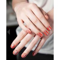 Partial metallics, Monika Chiang. Image source: http://www.harpersbazaar.com/beauty/makeup-articles/oscar-de-la-renta-light-nail-trend-report-spring-2013#slide-17