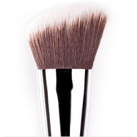 F84 Angled Kabuki ($18) made with synthetic bristles <http://www.sigmabeauty.com/Sigma_Angled_Top_Synthetic_Kabuki_F84_p/f84.htm?Click=65806