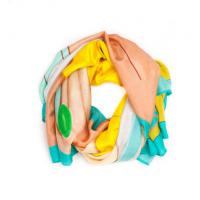 Deco Josephine Wrap Turquoise/ Yellow, Bottica, $265 http://boticca.com/anandadesign/deco-josephine-wrap-turq-yellow/
