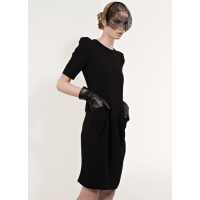 A little black dress from Carla Zampatti, http://www.carlazampatti.com.au/Collections/Autumn_%7C_Winter_2013.htm