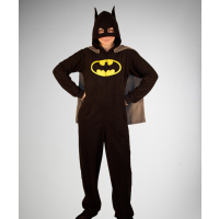 Fleecy adult Batman pyjamas, Spencers Online, $17.48 http://www.spencersonline.com/product/ub-new-batman-fthd-md/