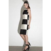 Carla Zampatti Onyz & Pearl luxe stripe chemise $699.00 http://www.carlazampatti.com.au/Shop/Shop_Garments/Short_Dresses/136063.9013/Onyx-And-Pearl-Luxe-Stripe-Chemise.html