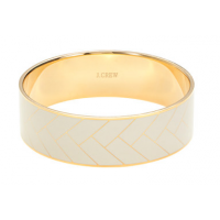 Etched Enamel Bangle (white), AUD $57.30 http://ad.doubleclick.net/ddm/clk/278081403;105280396;c?http://www.jcrew.com/womens_category/jewelry/bracelets/PRDOVR~A2603/A2603.jsp?srcCode=BRLSMMissyConfidential&utm_source=BRLSMMissyConfidential&utm_medium=Disp