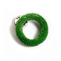 Scrunchy brooch (green) by Ruta Kiskyte, Edition X, $70 http://www.editionx.com.au/collections/jewels-brooches/products/scrunchy-brooch-green