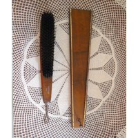 Vintage shoes shine brush. brown wooden hanging shoe brush https://www.etsy.com/au/listing/110700289/vintage-shoes-shine-brush-brown-wooden?ref=favs_view_2&atr_uid=23994507