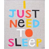 CASTLE I Just Need To Sleep Tea Towel, $69 http://www.castleandthings.com.au/home.php?cat=280#