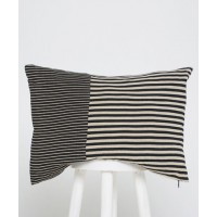 MerakiHOME Stripe Lounge Cushion, $69.95 http://merakihome.squarespace.com/cushions/ck-stripe-black-lounge-cushion