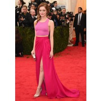 Crop-Top Dress: Emma Stone in Thakoon at the Met Ball http://bit.ly/S6W14v