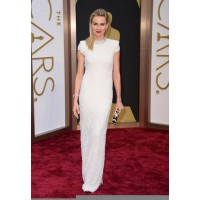 High Neckline Dress: Naomi Watts in Calvin Klein at the Oscars http://bit.ly/1l4y4WK