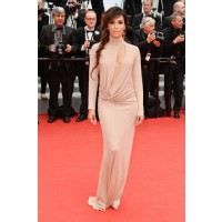 High Neckline Dress: Eva Longoria in Vionnet at the Cannes Film Festival http://bit.ly/1oUOtQU