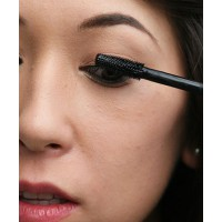 Use a shimmying motion to help you coat each lash.