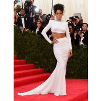 Crop-Top Dress: Rhianna in Stella McCartney at the Met Ball http://bit.ly/S6W14v