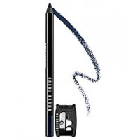 We used Bobbi Brown Long-Wear Eye Pencil in 'Black Navy'. http://www.bobbibrown.com.au/product/2331/20495/Makeup/Eyes/Long-Wear/Long-Wear-Eye-Pencil/Best-Seller/index.tmpl#